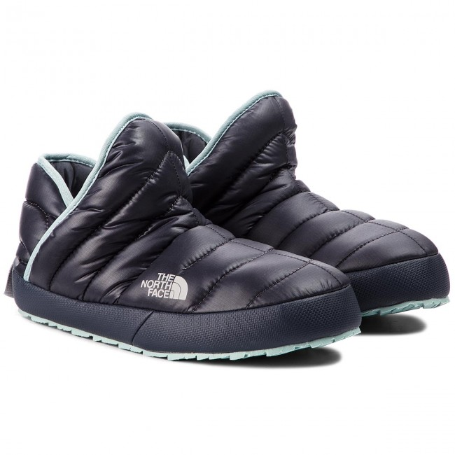 Hausschuhe THE NORTH FACE                                                      Thermoball Traction Bootie T9331H5QC  Shiny schwarzened Pearl/Blau Haze bfdbde