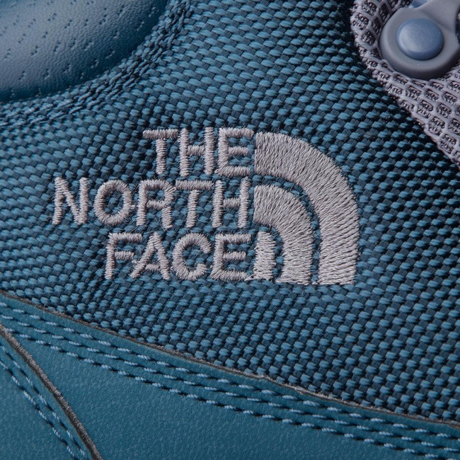 Trekkingschuhe THE NORTH FACE       FACE                                               Back-To-Berkeley ROTux Remtlz Mesh T93RRW8MV  Blau Wing Teal/Grisaille Grau a7e1bd