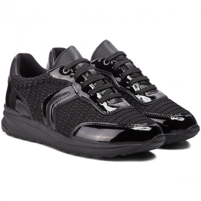 Sneakers GEOX                                                      D Airell A D842SA 0AS66 C9999 schwarz a78402