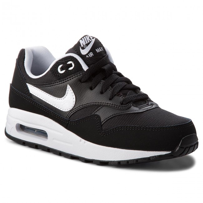 Schuhe NIKE                                                    Air Max 1 (GS) 807602 001 Black/White