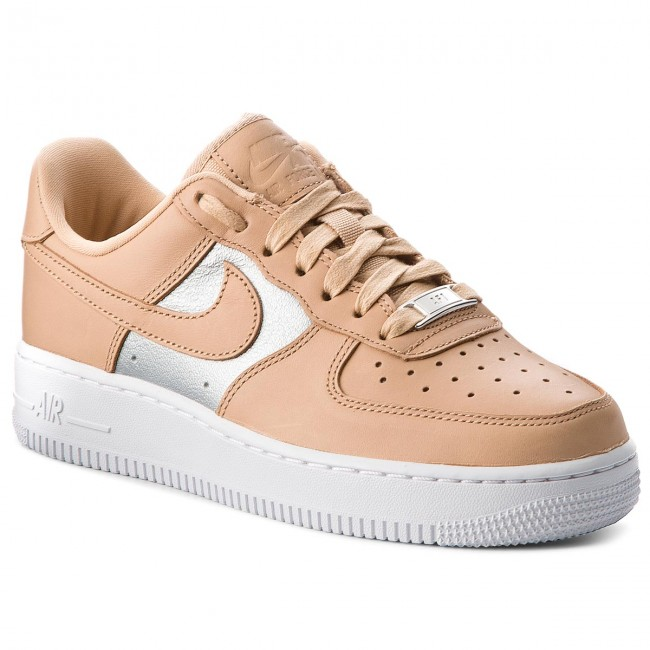Schuhe NIKE                                                    Air Force 1  07 Se Prm AH6827 200 Bio Beige/Metallic Silver