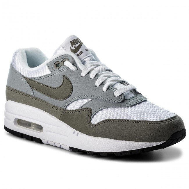 Schuhe NIKE-Air Max Pumice 1 319986 105  White/Dark Stucci/Light Pumice Max Werbe Schuhe 474ede