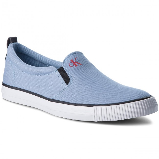 Turnschuhe CALVIN KLEIN JEANS-Armand Denim S1488 Light Blue