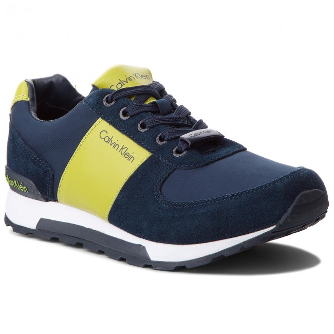 Sneakers CALVIN JEANS-Dusty KLEIN JEANS-Dusty CALVIN SE8448  Navy/Citro 91e142