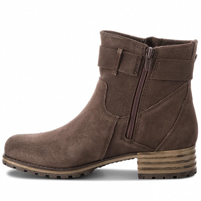 Stiefeletten CLARKS                                                      Marana Amber 261372344 Taupe Suede aa695f