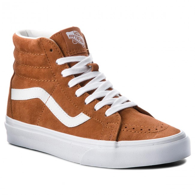 Sneakers VANS-Sk8-Hi Reissue VN0A2XSBU5K (Pig Suede) Leather Brown