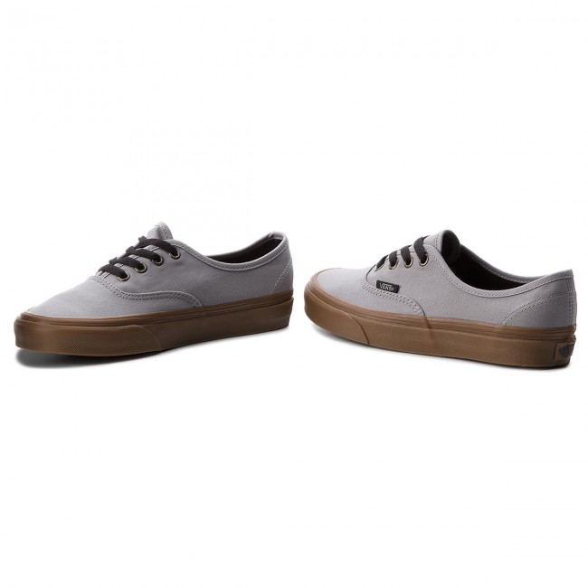 Turnschuhe VANS                                                      Authentic VN0A38EMU40 (Gum Outsole) Alloy/schwarz b99c3d