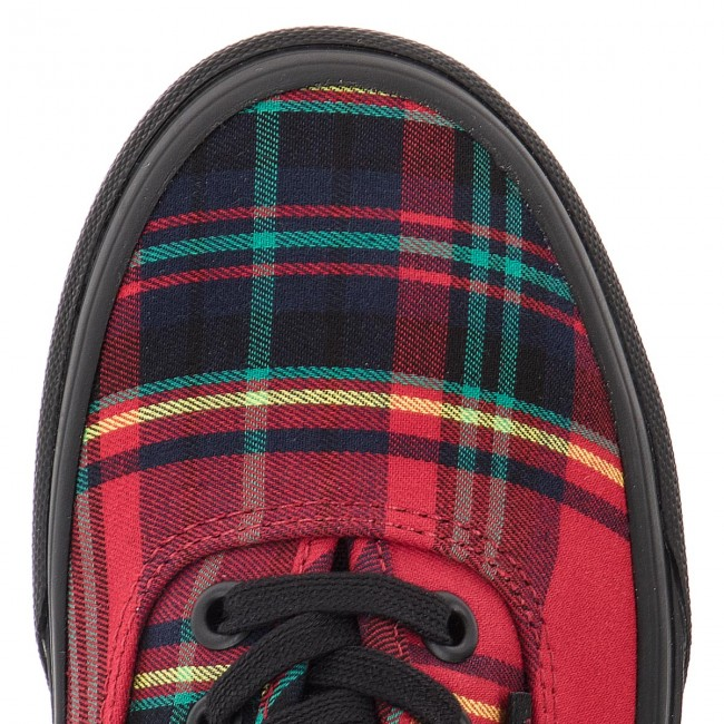 Turnschuhe VANS-Authentic VANS-Authentic Turnschuhe VN0A38EMU5P (Plaid Mix) ROT/schwarz 9f392b