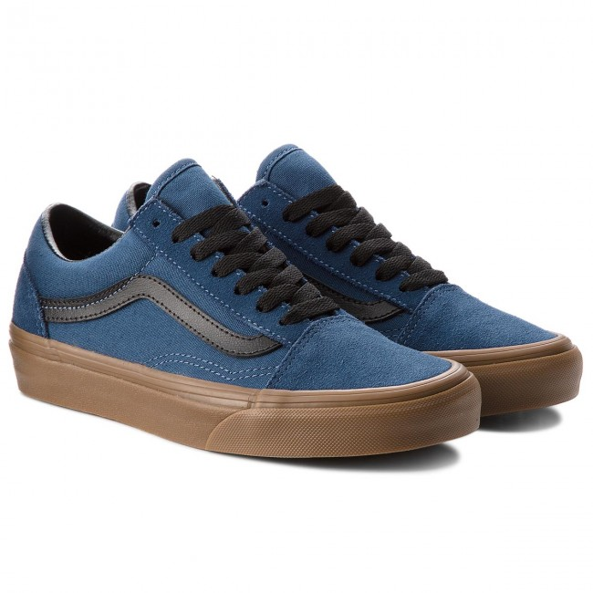 Turnschuhe VANS                                                      Old Skool VN0A38G1U4C (Gum Outsole) Dark Denim aee9ec