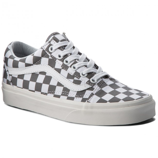 Turnschuhe VANS                                                    Old Skool VN0A38G1U53 (Checkerboard) Pewter/Marshmallow
