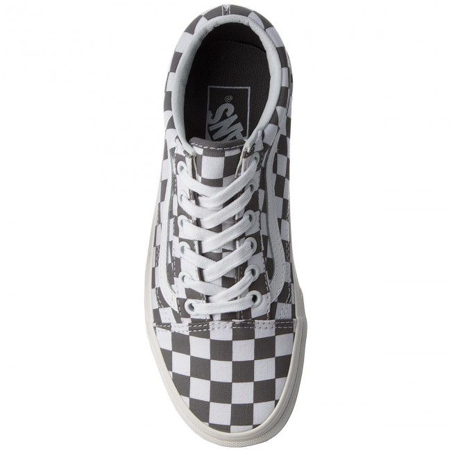 Turnschuhe  VANS    Turnschuhe                                                 Old Skool VN0A38G1U53 (Checkerboard) Pewter/Marshmallow 161fee