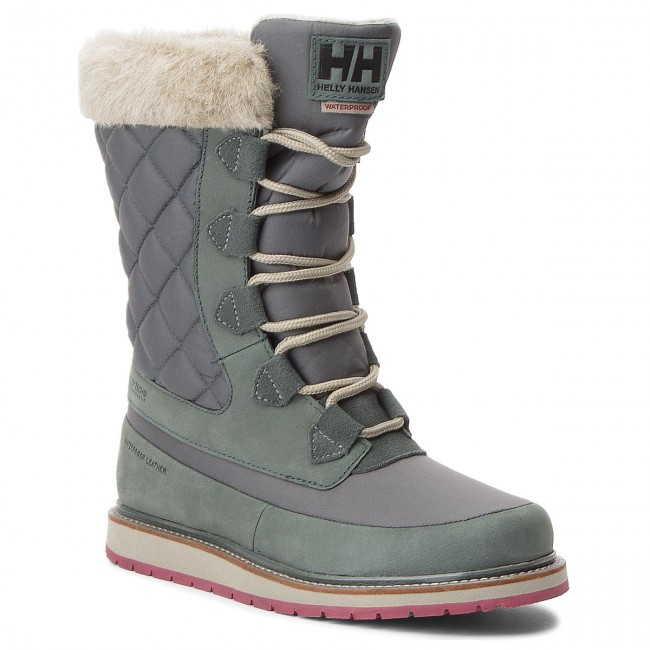 Schneeschuhe HELLY HANSEN       HANSEN                                               W Arosa Ht 112-91.495 Darkest Spruce/Rock/Laurel Oak/Port 6bd4fd