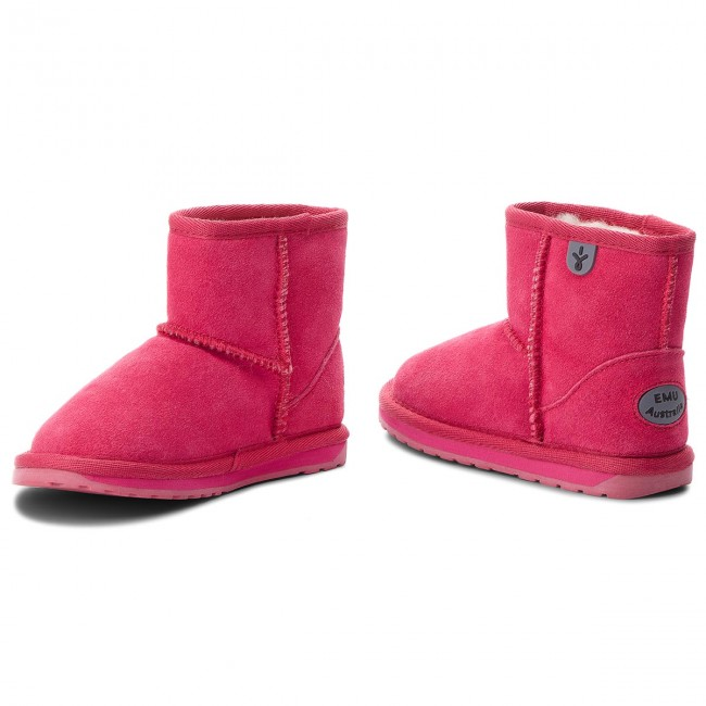 Schuhe EMU AUSTRALIA                                                      Wallaby Mini K10103  Fuschia 33694c
