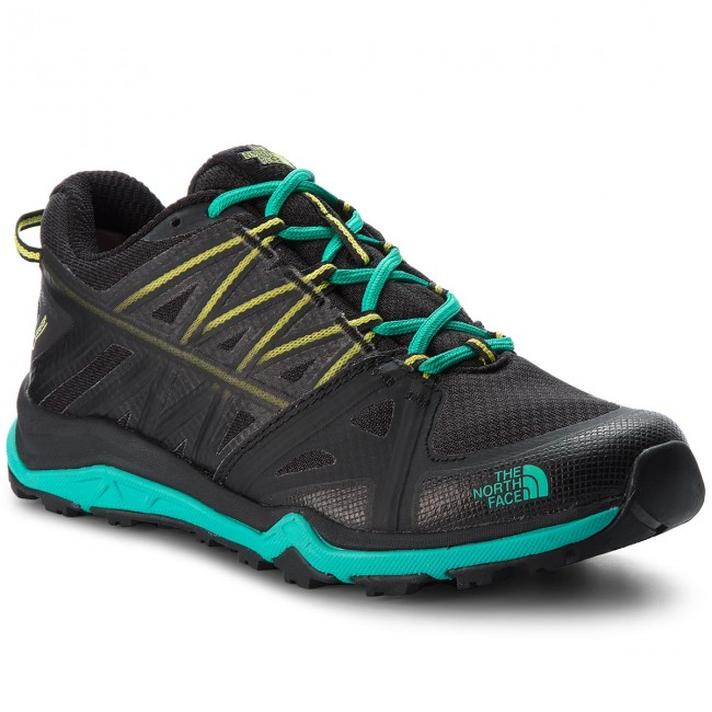 Trekkingschuhe THE NORTH FACE-Hedgehog Fastpack Lite II Gtx GORE-TEX T92UX64FX  Tnf Black/Pool Green Werbe Schuhe