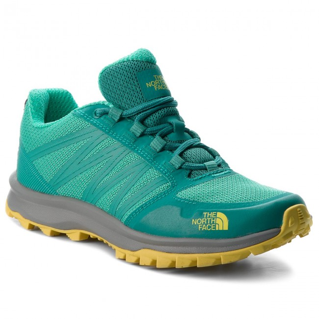 Trekkingschuhe THE NORTH FACE-Litewave Fastpack T93FX74GM  Porcelain Green/Blazing Yellow Werbe Schuhe