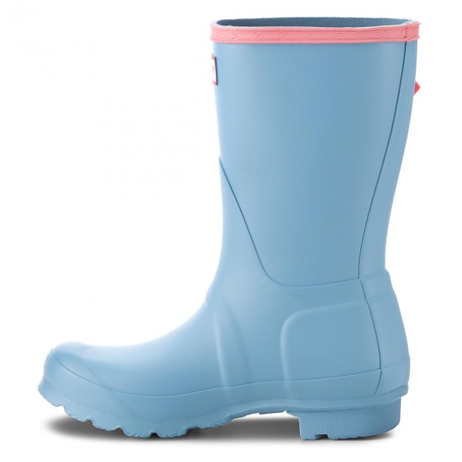Gummistiefel HUNTER                                                      Org Short Colourblock WFS2026RMA Pale Blau dc439f
