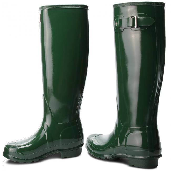 Gummistiefel HUNTER       HUNTER                                               Org Tall Gloss WFT1000RGL  Hunter Green e59672