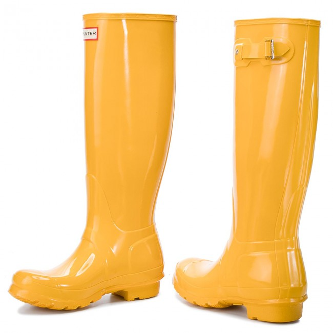Gummistiefel HUNTER                                                      Org Tall Gloss WFT1000RGL Yellow 269f38