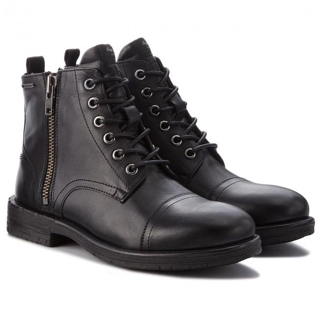 Stiefel PMS50163 PEPE JEANS-Tom-Cut Med Boot PMS50163 Stiefel schwarz 999 9e9f96