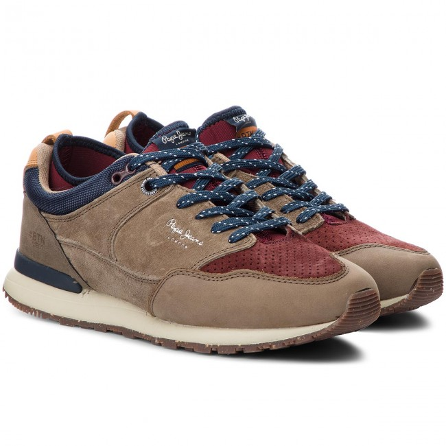 Sneakers PEPE JEANS-Btn Treck Lth 884 Pack PMS30473 Stag 884 Lth 064fe6