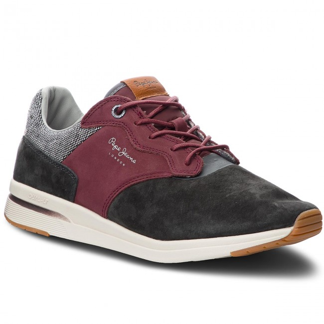 Sneakers PEPE JEANS-Jayker Nubuc Anthracite PMS30480  Anthracite Nubuc 982 9f931e