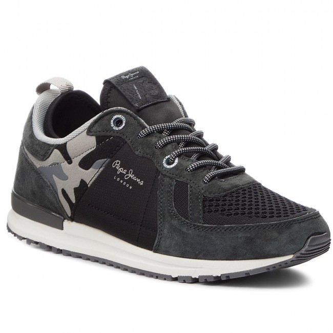 Sneakers PEPE 982 JEANS-Tinker Pro-70 PMS30488 Anthracite 982 PEPE 790e09