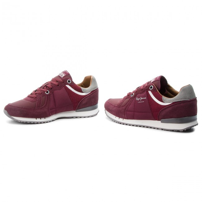 Sneakers Bordeaux PEPE JEANS-Tinker 1973 PMS30484 Bordeaux Sneakers 298 73f7db