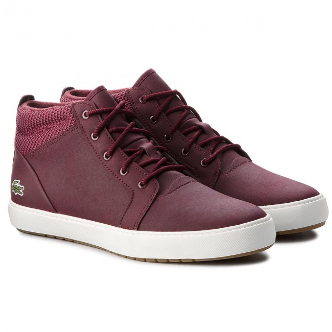 Sneakers LACOSTE                                                      Ampthill 318 1 Caw 7-36CAW00033C9 Burg/Off Wht 5f5e43