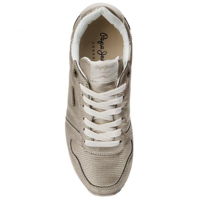 Sneakers PEPE JEANS       JEANS                                               Gable New Plain PLS30724  Gold 099 a4c97a