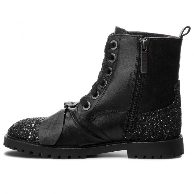 Trapperschuhe PEPE JEANS       JEANS                                               Pulp Bow PGS50123 schwarz 999 93ff16