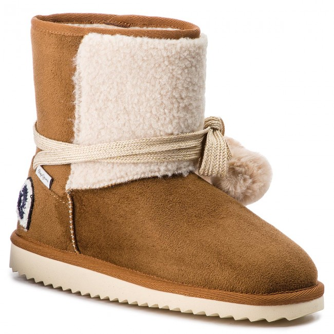 Schuhe PEPE JEANS                                                      Angel Lace PGS50131 Tobacco 859 5dd05c