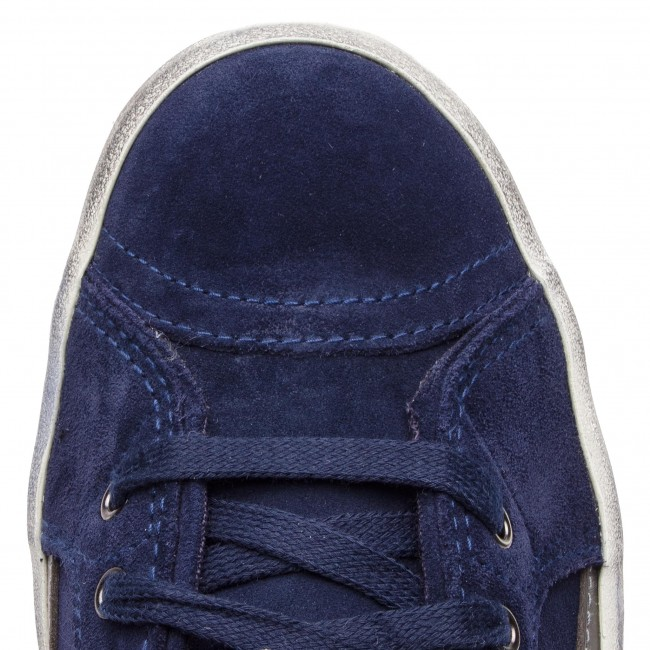Halbschuhe Turnschuhe DIESEL - D-Velows Mid Lace Lace Lace Y01759 P1834 T6062 Peacoat Blau eaa4a1