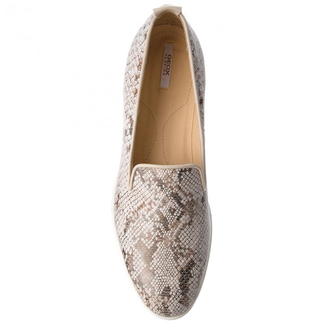 Lords Schuhe GEOX       GEOX                                               D Janalee H D725AH 041BC C1181 Off Weiß/Lt Taupe 95f4ab