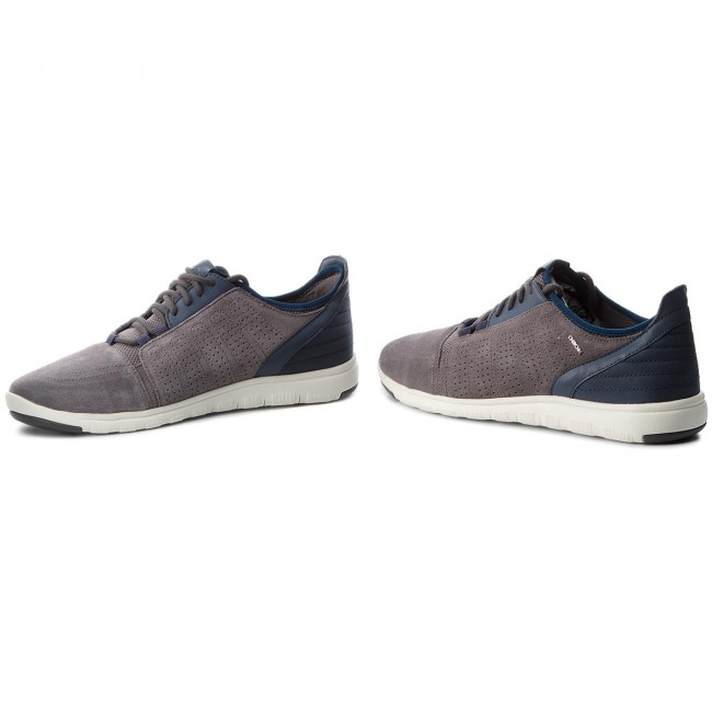 Sneakers U720DB GEOX-U Xunday 2Fit B U720DB Sneakers 02211 C9AB4 Anthracite/Lt Navy ab9cf6