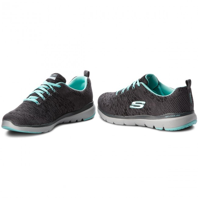 Schuhe SKECHERS                                                      Flex Appeal 3.0 13062/CCLB Charcoal/Light Blau a2df28