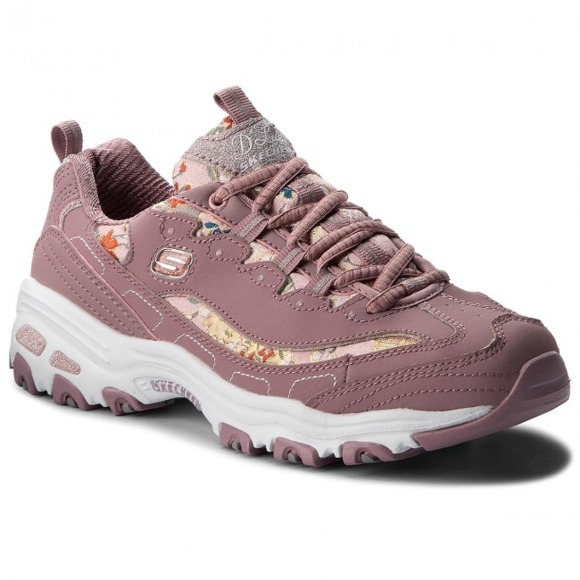 Sneakers SKECHERS                                                      Floral Days 13082/MVE  Mauve dd0321