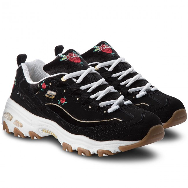 Sneakers  SKECHERS     Sneakers                                                Rose Blooms 13084/BKW schwarz/Weiß 214695