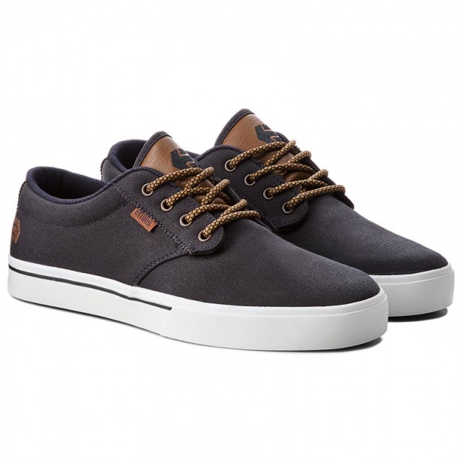 Turnschuhe Navy/Tan/White ETNIES-Jameson 2 Eco 4101000323 Navy/Tan/White Turnschuhe c34c71