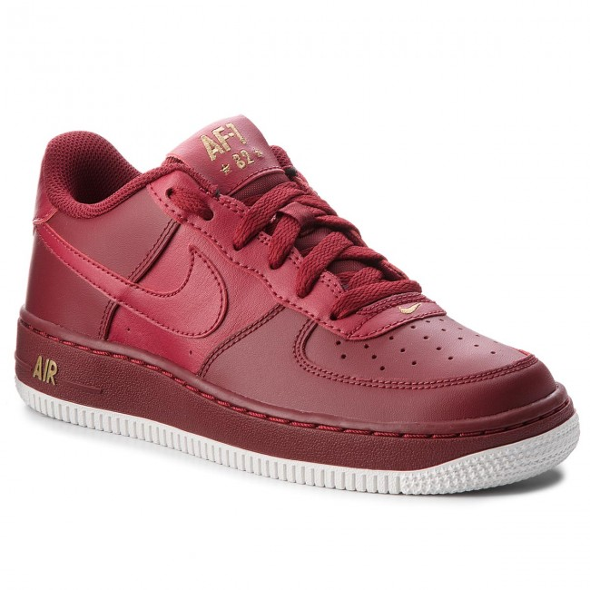 Schuhe NIKE Air Force 1 (Gs) 314192 613 Team Red/Team Red/Summit White