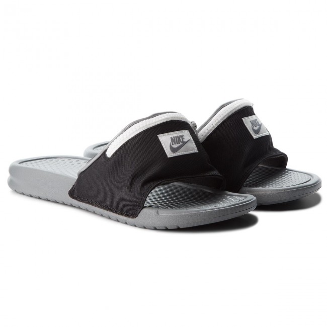 Pantoletten NIKE-Benassi Jdi Fanny AO1037 001 Black/Cool Grey/Summit White