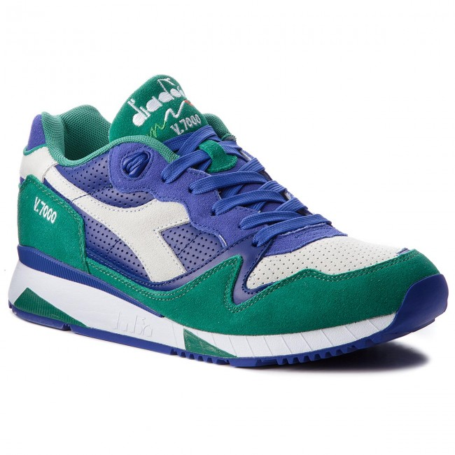 Sneakers DIADORA-V7000 Premium 501.161998 01 C6605 Royal Bue/Cadmium Green