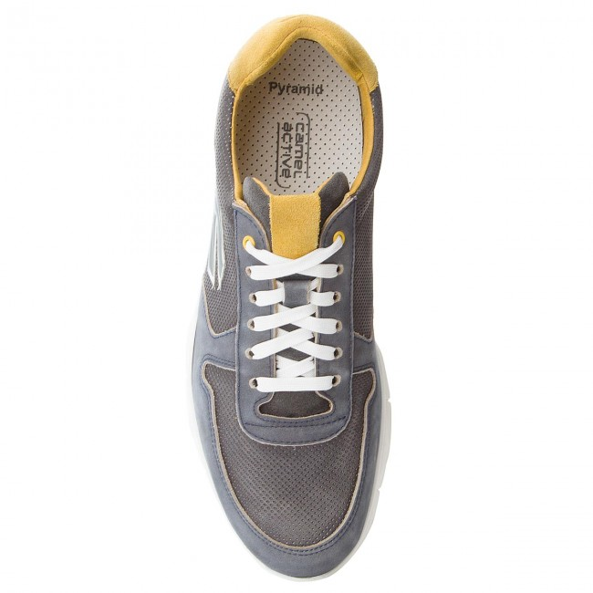 Sneakers CAMEL ACTIVE-Pyramid 487.11.01 487.11.01 487.11.01 Navy/schwarz/Yellow aa0c8f
