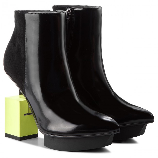 Stiefeletten UNITED NUDE       NUDE                                               Cube Bootie 103410131811904 Black/Lime 2a1c6f