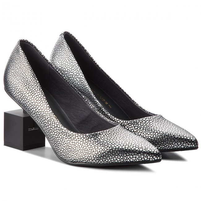 Halbschuhe UNITED NUDE                                                      Cube Pump 10342576127 Silver Stingray 95cde3