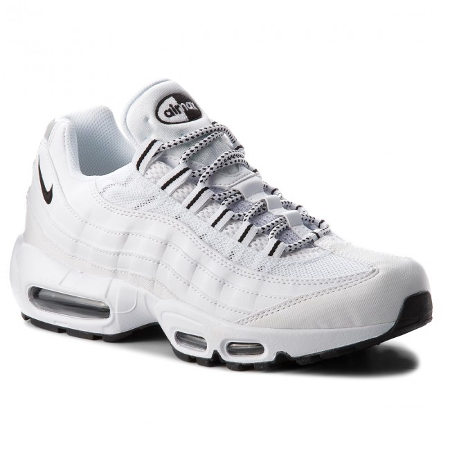 best loved d5a9e be8cb Schuhe NIKE - Air Max 95 609048 109 White/Black/Black - Sneakers ...
