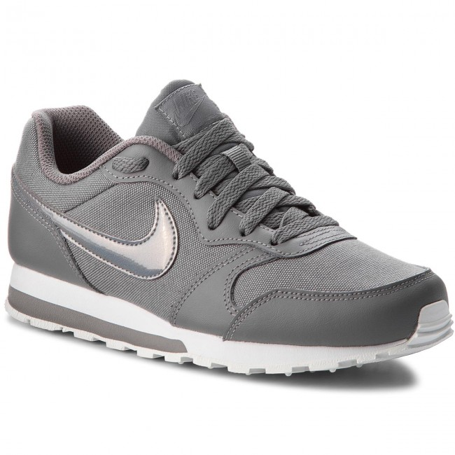 Schuhe NIKE                                                    Md Runner 2 (GS) 807319 014 Gunsmoke/Gunsmoke/White