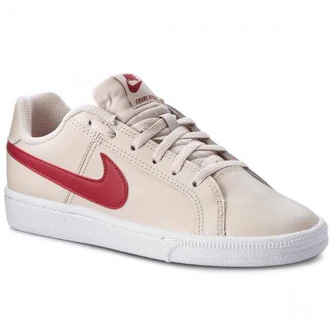 Schuhe NIKE                                                    Court Royale (GS) 833654 008 Desert Sand/Red Crush/White