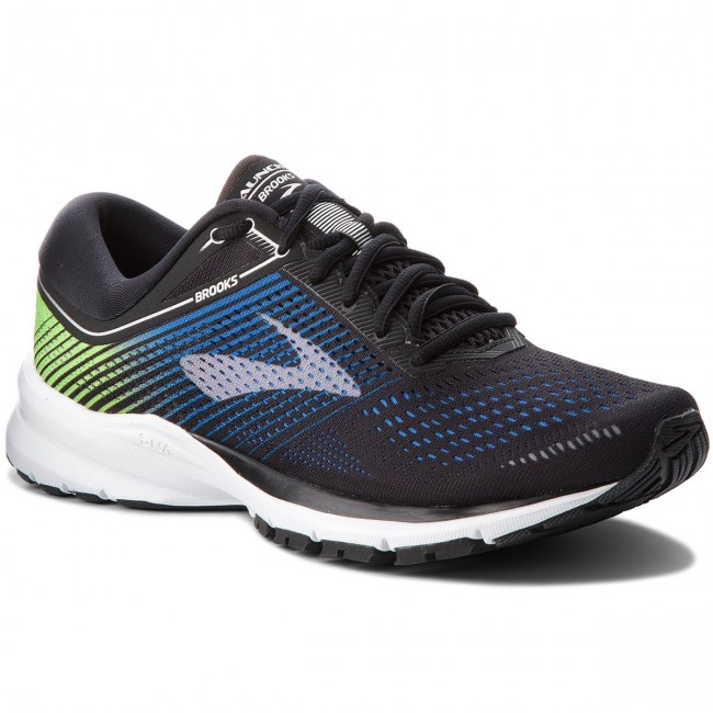 Schuhe BROOKS-Launch 5 110278 1D 016 Black/Blue/Green