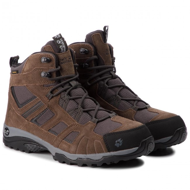 Trekkingschuhe JACK WOLFSKIN-Vojo Hike Mid Wood Texapore Men 4011361 Dark Wood Mid ac1700