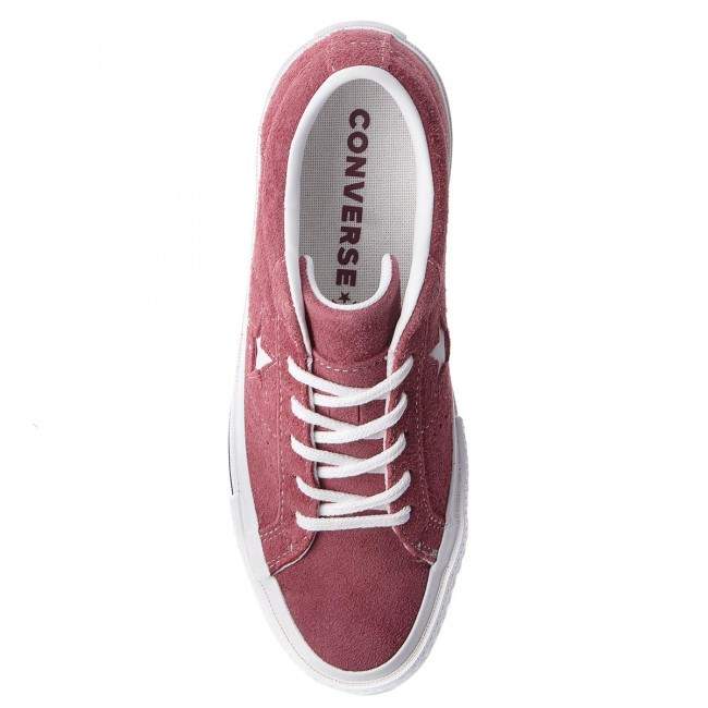 Turnschuhe CONVERSE                                                    One Star Ox 261790C Deep Bordeaux/White/White
